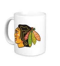 Керамическая кружка HC Chicago Blackhawks