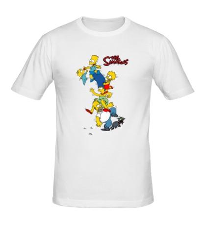 Мужская футболка The Simpsons