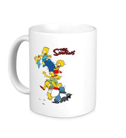 Керамическая кружка The Simpsons