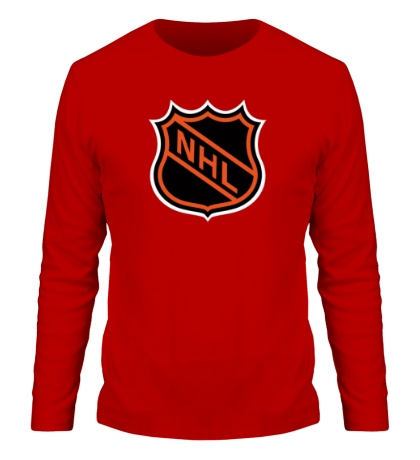 Мужской лонгслив NHL Logo