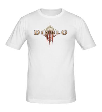 Мужская футболка Diablo III Logo