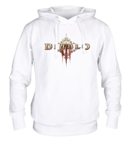Толстовка с капюшоном Diablo III Logo