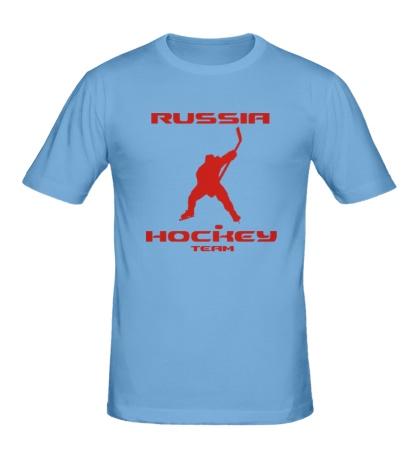 Мужская футболка Russia: Hockey Team