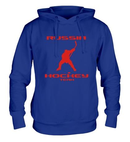 Толстовка с капюшоном Russia: Hockey Team