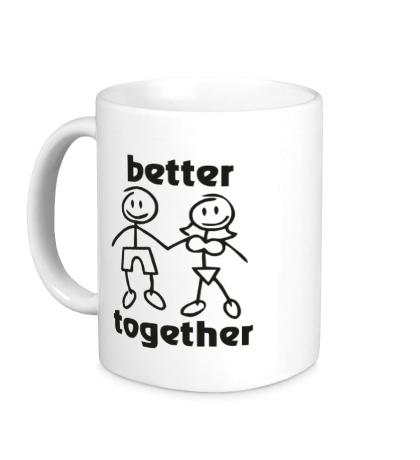 Керамическая кружка Better together