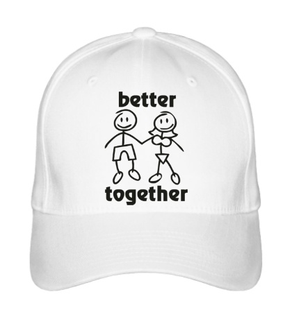 Бейсболка Better together