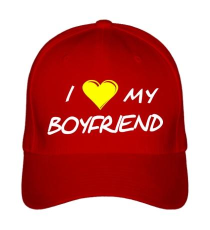Бейсболка I love my boyfriend
