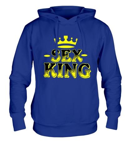 Толстовка с капюшоном Sex King
