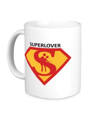 Керамическая кружка Superlover