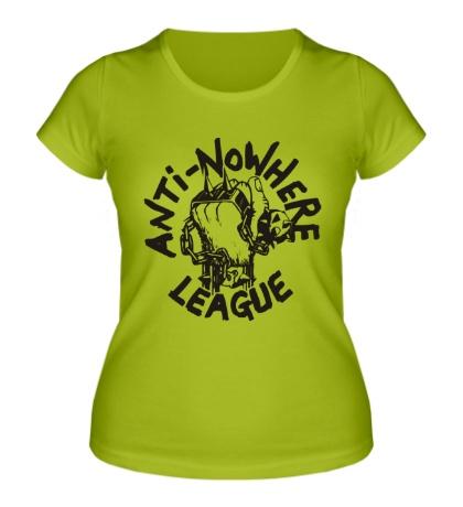 Женская футболка Anti Nowhere League