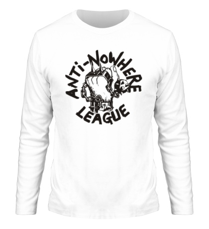 Мужской лонгслив Anti Nowhere League