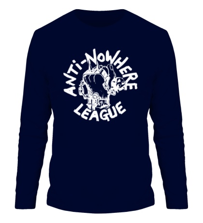 Мужской лонгслив Anti Nowhere League