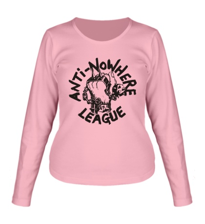 Женский лонгслив Anti Nowhere League