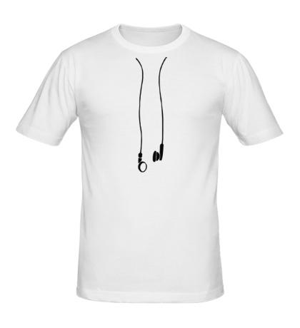 Мужская футболка Earphones