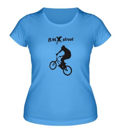 Женская футболка BMX street