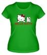 Женская футболка «Hello kitty» - Фото 1