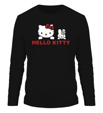 Мужской лонгслив «Hello kitty»