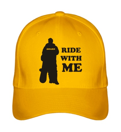Бейсболка Ride with me