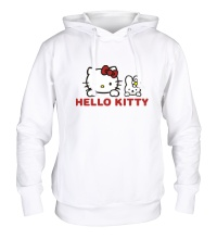 Толстовка с капюшоном Hello kitty