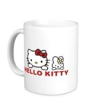 Керамическая кружка Hello kitty