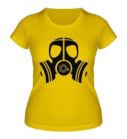 Женская футболка Маска
