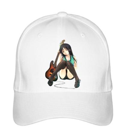 Бейсболка Аниме девушка с гитарой