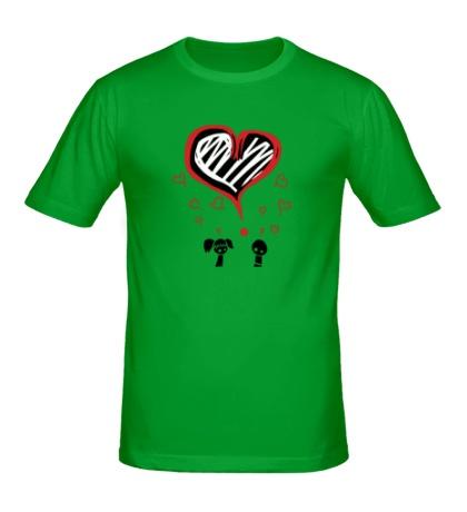 Мужская футболка «Любовь»