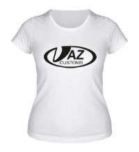 Женская футболка VAZ Customs