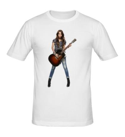 Мужская футболка «Майли Сайрус»