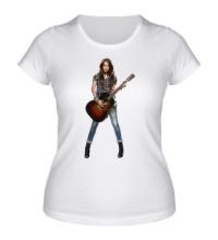 Женская футболка Майли Сайрус