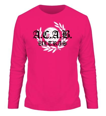 Мужской лонгслив «A.C.A.B Ultras»