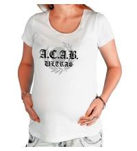 Футболка для беременной A.C.A.B Ultras