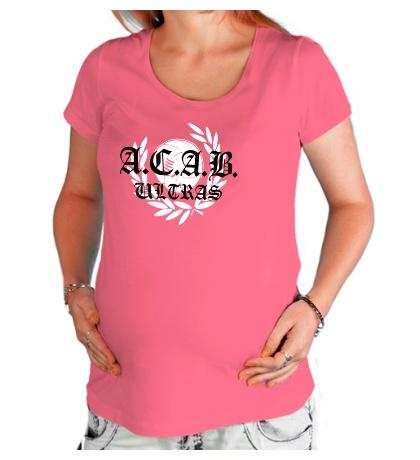 Футболка для беременной «A.C.A.B Ultras»