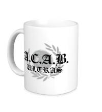Керамическая кружка A.C.A.B Ultras