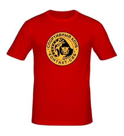 Мужская футболка Контакт-сиб клуб