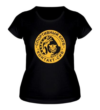 Женская футболка Контакт-сиб клуб
