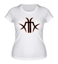 Женская футболка The Matrix