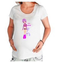 Футболка для беременной Твоя зайка