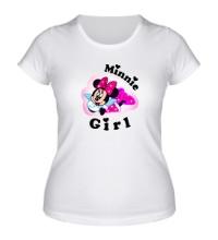 Женская футболка Minnie Girl