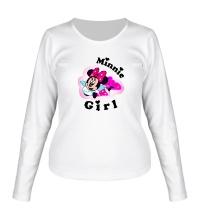 Женский лонгслив Minnie Girl
