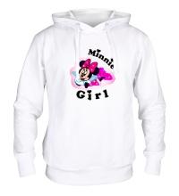 Толстовка с капюшоном Minnie Girl