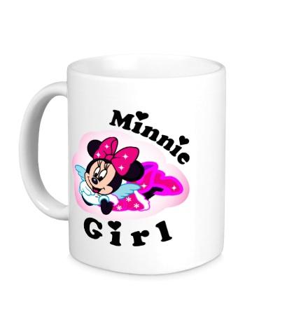 Керамическая кружка Minnie Girl