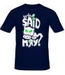 Мужская футболка «Who Said Meow?» - Фото 1
