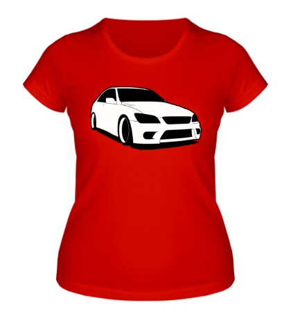 Женская футболка «Altezza»