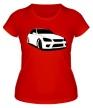 Женская футболка «Altezza» - Фото 1