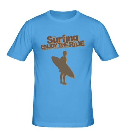 Мужская футболка Surfing enjoy