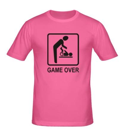Мужская футболка Game Over