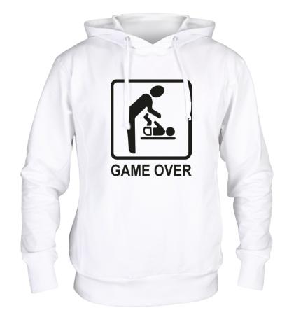 Толстовка с капюшоном Game Over