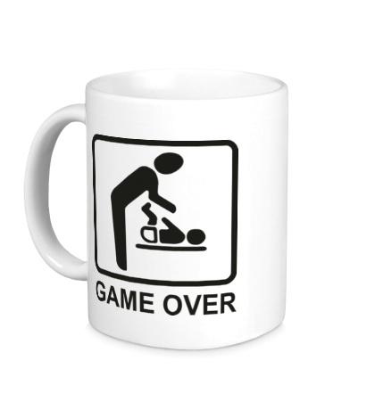 Керамическая кружка Game Over