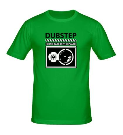 Мужская футболка Dubstep More Bass